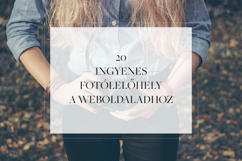 20+1 ingyenes fotó lelőhely a weboldaladhoz