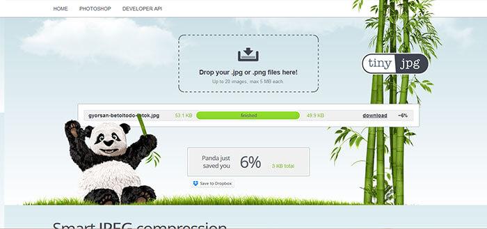 Fotók optimalizálása weboldalra