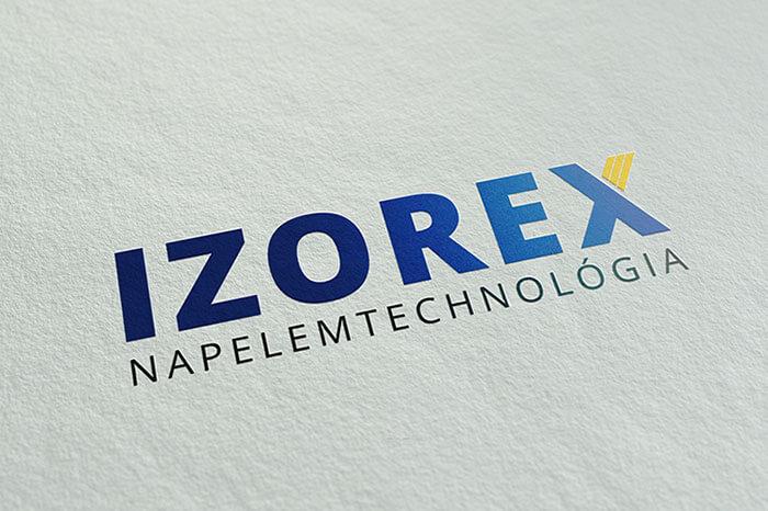 Izorex Kft. logó terv