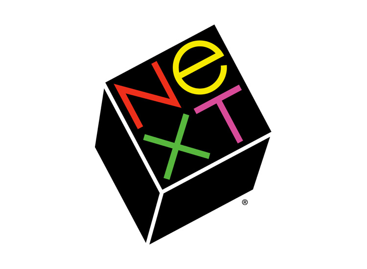 Next logó - Paul Rand