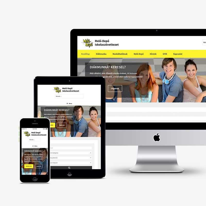 Reszponzív webdesign és weboldal