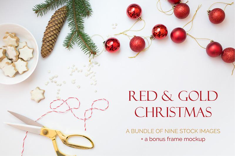 Karácsonyi fotók a Creative Market-en