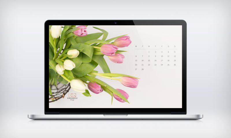 Ingyen letölthető 2017 februári háttérkép naptárral