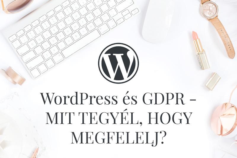 324058bfe3 WordPress és GDPR - mit tegyél, hogy megfelelj? - Kreanilla ...