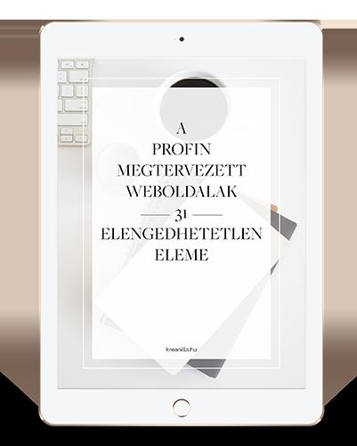 6bf27bc3f3 Adatkezelési tájékoztató - Kreanilla - Webdesign, weboldal, honlap ...